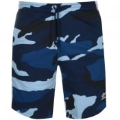 Product Image for adidas Originals Camo Shorts Navy