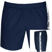 Product Image for BOSS HUGO BOSS Dolphin Swim Shorts Navy