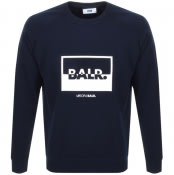 Product Image for BALR Contrasting Logo Sweatshirt Navy
