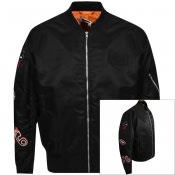 Product Image for MCQ Alexander McQueen Badge MA1 Jacket Black