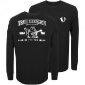 Product Image for True Religion Crew Neck Logo T Shirt Black